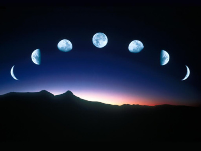 magickal graphics moon phases